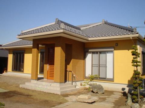 冬暖かく夏涼しい エコな和風の家完成