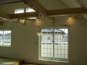 03_ダイニングの天井