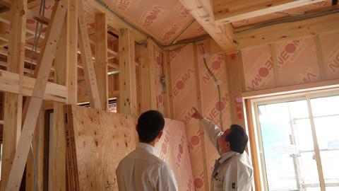 見える見える家の仕組み-構造見学会開催中!