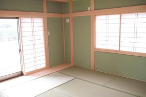 和室の主寝室9畳