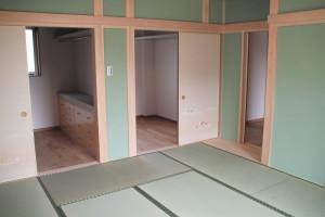 主寝室の納戸2.5帖